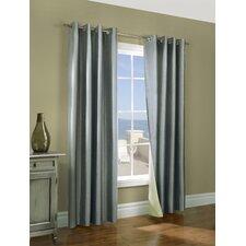<strong>Commonwealth Home Fashions</strong> Miller Grommet Curtain Pair