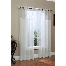 Wheatfield Grommet Window Curtain Single Panel