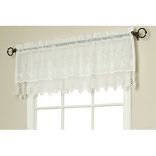 <strong>Commonwealth Home Fashions</strong> Macramé Curtain Valance