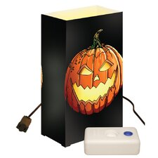Jack O'Lantern 10 Count Electric Luminaria Kit with LumaBases (Set of 10)