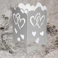 Hearts Tabletop Lanterns Kit (Set of 12)
