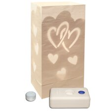 <strong>Luminarias</strong> Hearts Kit (Set of 12)