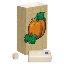 Harvest Battery Operated Luminaria Kit (Set of 12)