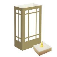 "10"" H Mission LumaLites Indoor/Outdoor Lantern (Set of 6)"