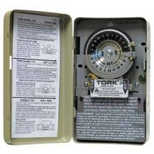 208-277 Volts 24 Hours SPST Mechanical Time Switch