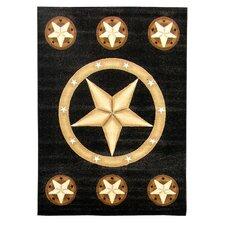Skinz Western Texas Star Rug