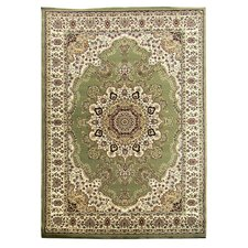 Tiffany Green Oriental Rug