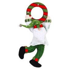"""11"""" Santa Door Hang"""