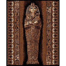 African Adventure Pharaoh Novelty Rug