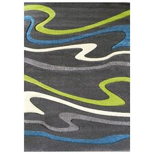Studio 603 Charcoal Wave Area Rug