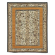 African Adventure Tan Cheetah Skin Rug