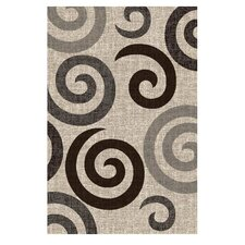 Lexington Champaign Large Swirl Rug
