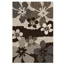 Lexington Champaign Flower Abstract Rug