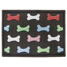 <strong>Park B Smith Ltd</strong> PB Paws & Co. Multi Bone Collection Tapestry Rug