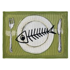 PB Paws & Co. Multi Meow Meal Tapestry Rug