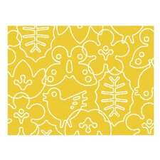 <strong>notNeutral</strong> Season White/Canary Yellow Kids Rug