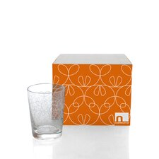Ribbon Double Old Fashioned Glassware (Set of 4)