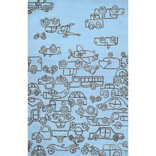 Transport Kids Rug