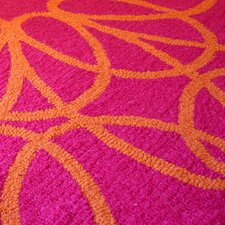 Ribbon Orange/Pink Rug