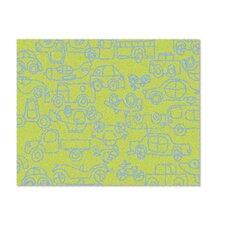<strong>notNeutral</strong> Just for Kids Lotus Green/Ozone Blue Transport Kids Rug
