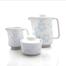 Blue Flora Coffee Serving Set