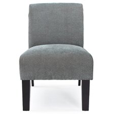 <strong>DHI</strong> Deco Solid Fabric Slipper Chair