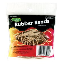 1.5 Oz Natural Rubber Band (Set of 12)