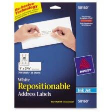 Repositionable Labels