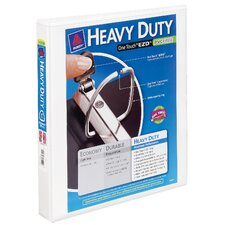 "1"" Heavy Duty One Touch View Binder"