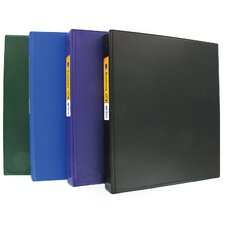 "1.5"" Assorted Colors Economy Binder"
