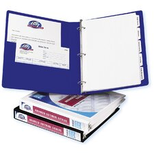 "1"" Durable Reference View Binder in White"