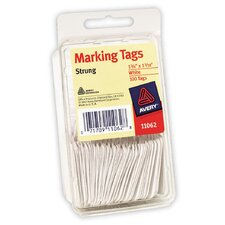 100 Marking Tag in White