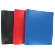 "1"" Assorted Colors 3 Ring Poly Binder (Set of 12)"