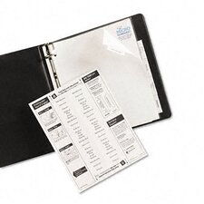 Worksaver Big Tab Extrawide Paper Dividers in White