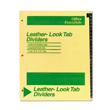 <strong>Avery</strong> Office Essentials Printed Tab Index Divider Set (Set of 26)