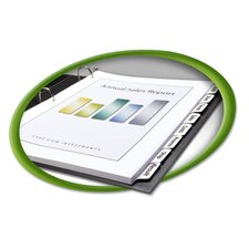 100% Recycled Index Maker Dividers
