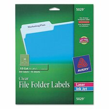Self-Adhesive Filing Labels, 450/Pack