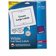 Shipping Labels with Trueblock Technology, 8-1/2 X 11, 25/Pack