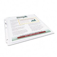 Multi-Page Top-Load Sheet Protectors, 25/Pack