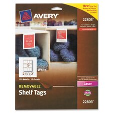 Removable Shelf Tag
