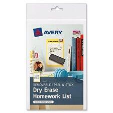 Dry Erase Sheet