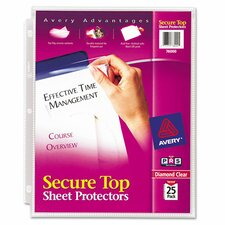 Secure Top Sheet Protector (25 Pack)