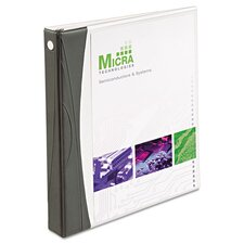 """1"""" Comfort Touch Durable View Binder"""