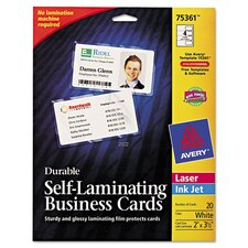 Self Laminating Business/ID Card (61 Pack)