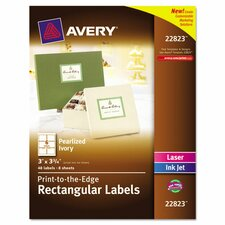 Rectangle Easy Peel Label (48 Pack)