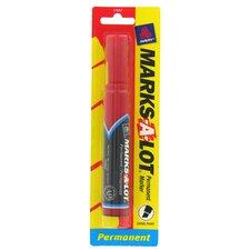 Marks-A-Lot Chisel Tip Permanent Marker (Set of 6)