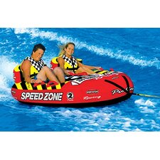 SpeedZone 2 Towable Tube with Optional 2K Tow Rope