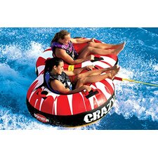 Crazy 8 Duo Towable Tube with Optional 2K Tow Rope