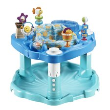 ExerSaucer Bounce and Learn Beach Baby Bouncer