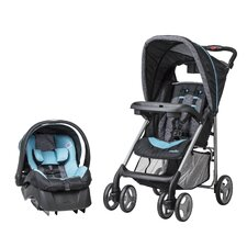 <strong>Evenflo</strong> JourneyLite Koi Travel System with Embrace Infant Car Seat